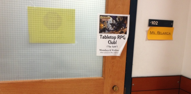 Tabletop Club at King Middle School