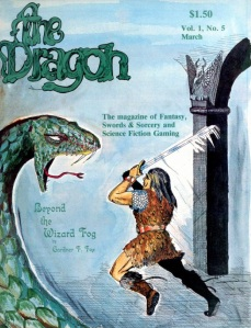 Dragon Magazine #5, March 1977.