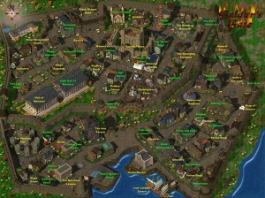 The city of Baldur's Gate (from Baldur's Gate 1)