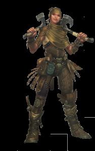 Kressle, the bandits' leader.