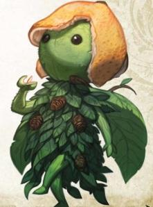 A Leaf Leshy