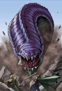 purple-worm