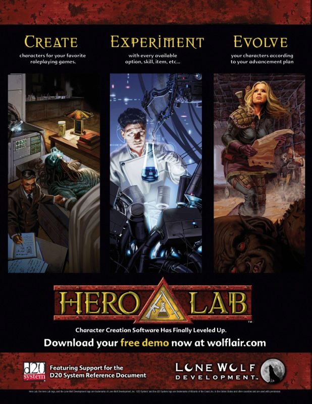 hero lab   Pathfinders' Guild of Berkeley