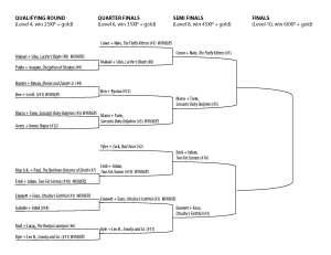 Tournament Bracket4
