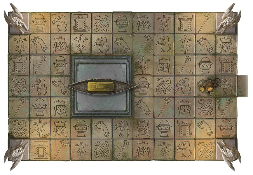 Hieroglyphic Floor